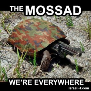The Mossad Are Everywhere