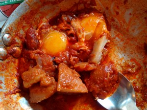 Potatoes clearly belong in shakshuka